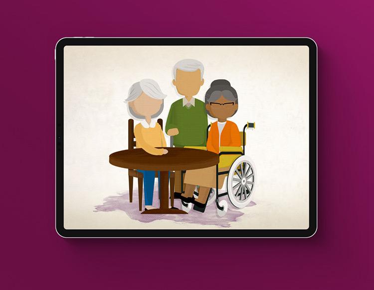 CalMedi Connect on iPad