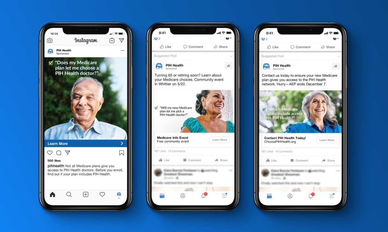PIH social media ads