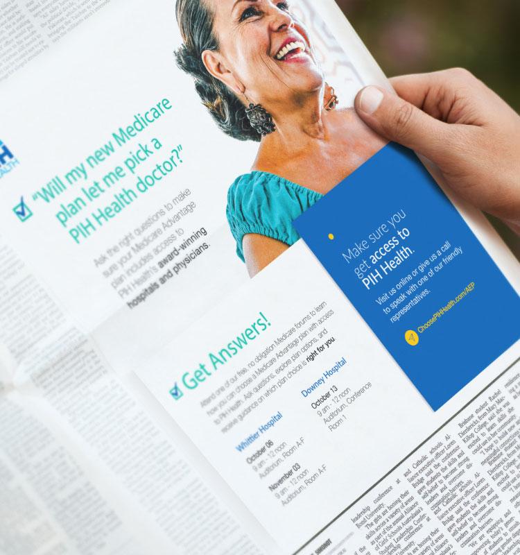 PIH print ad
