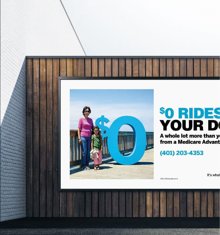 BCBSRI Billboard
